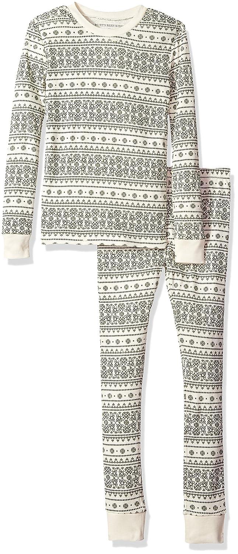 fb1ce4b79240 Amazon.com: Burt's Bees Baby Unisex Big Holiday Pajamas, 2-Piece PJ Sets,  100% Organic Cotton (Kids XS-XL), Evergreen Fair Isle, X-Large (16):  Clothing