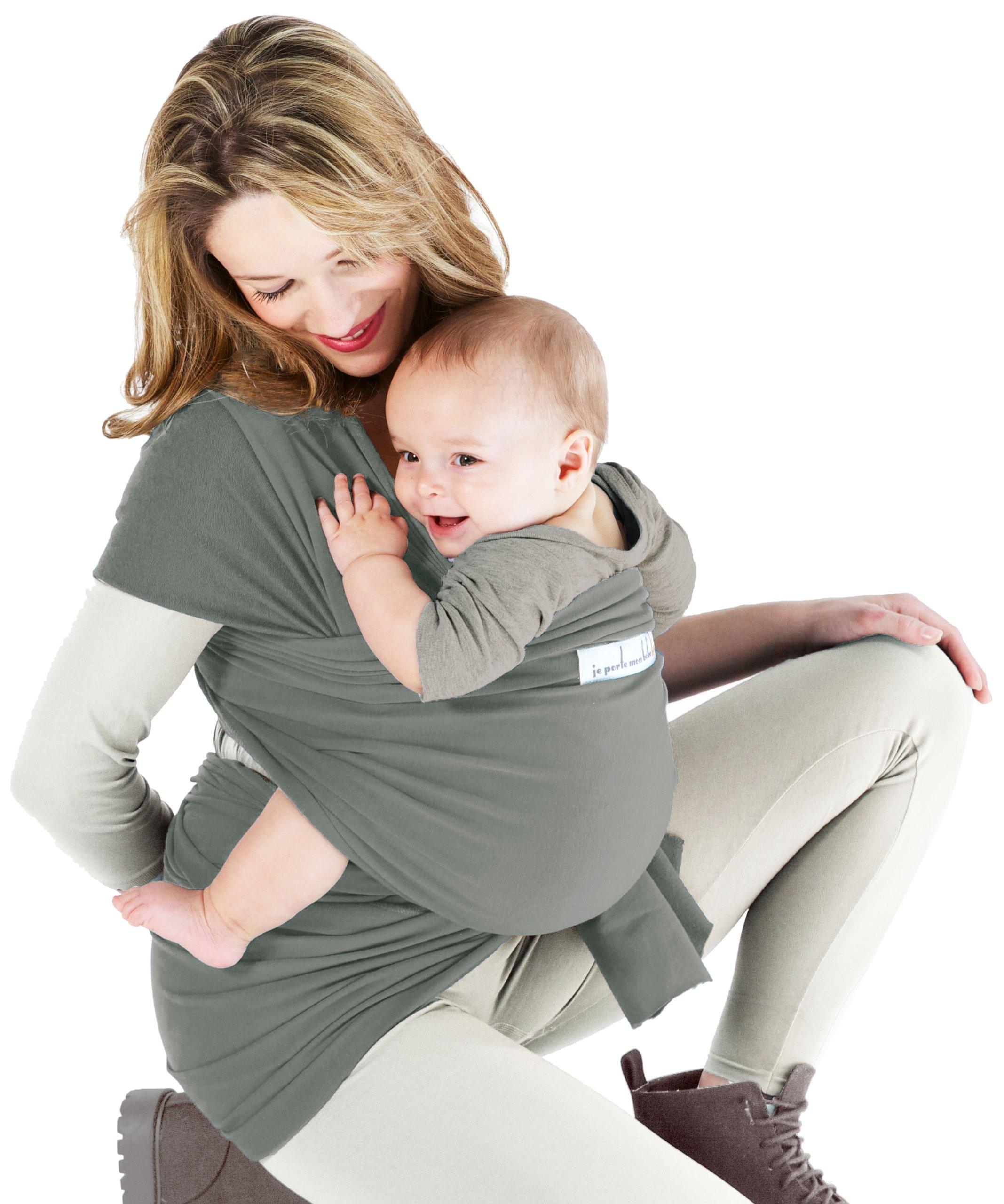 Je Porte Mon Bébé Basic - Fular portabebés, color verde product image