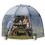 garden igloo 360 pavillon gew chshaus garten iglu amazon. Black Bedroom Furniture Sets. Home Design Ideas