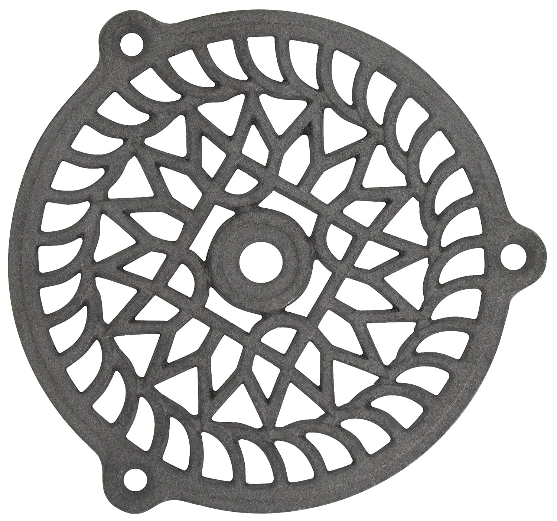 Grille fixe - Fonte - Diamè tre 160 mm - JARDINIER MASSARD 259861