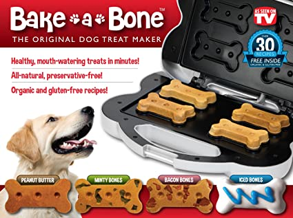 9fddb410ff6 Amazon.com   Bake-A-Bone The Original Dog Treat Maker   Pet Snack ...