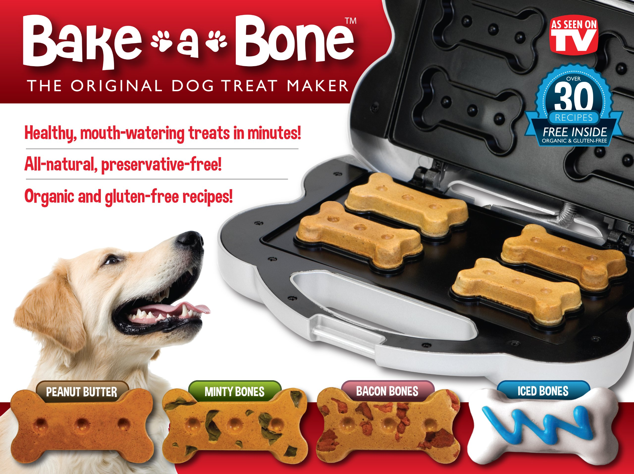Bake-A-Bone The Original Dog Treat Maker
