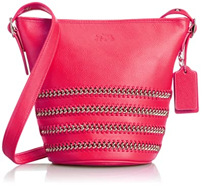 Coach Leather Chain Laced Duffel - Pink Ruby  Handbags  Amazon.com 8a0d1fbc0a6e1