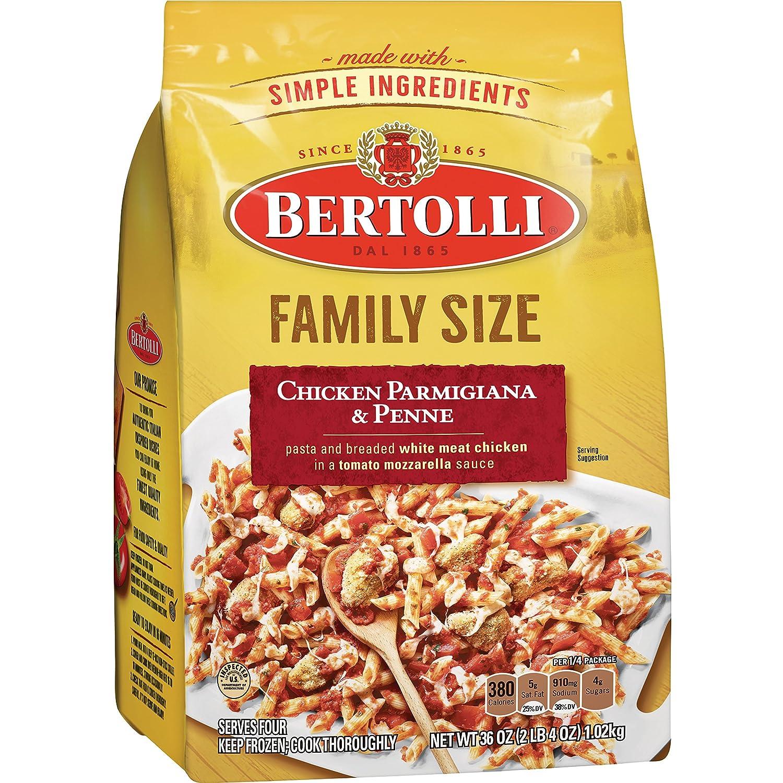 Bertolli Frozen Skillet Meals Family Size Chicken Parmigiana & Penne, 36 Oz
