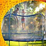 ThrillZoo Trampoline Waterpark Heavy Duty Trampoline Sprinkler Hose - Trampoline Accessories Fun Summer Outdoor Water Game To