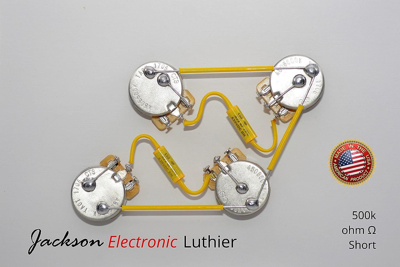 Les PauL Wiring Harness Kit Custom Vintage Wiring - Short or Long - Vintage Wiring Harness on