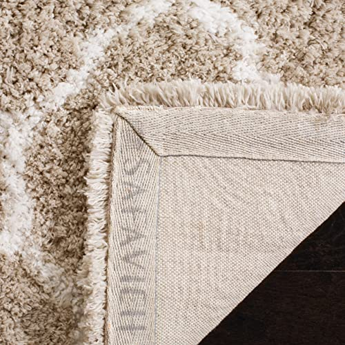 Safavieh Toronto Shag Collection SGT602C Handmade 1.25-inch Thick Area Rug