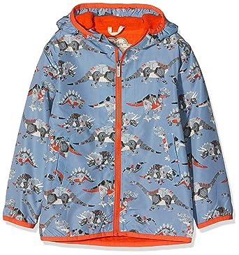74ccab014d31 Amazon.com  Hatley Kids Mens Robotic Dinos Microfiber Rain Jacket ...