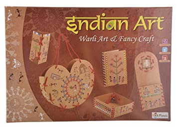 Buy Petals Indian Warli Art And Craft Kit Online At Low Prices In
