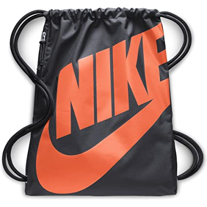 Amazon.com  NIKE Heritage Gym Sack, Anthracite Anthracite Cone, One ... 32b3666d54