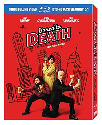 Amazon Com Bored To Death Season 2 Blu Ray Jason Schwartzman Zach Galifianakis Ted Danson Movies Tv