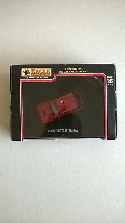 Nickys Gift UH 1 43 Renault 5 Turbo Red Die Cast Metal Model