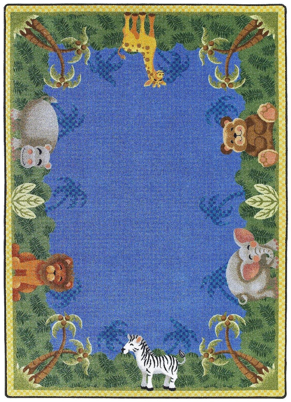 Nur für Kinder Jungle Friends Teppich Teppich Größe: 7'20,3cm X 10' 22,9cm