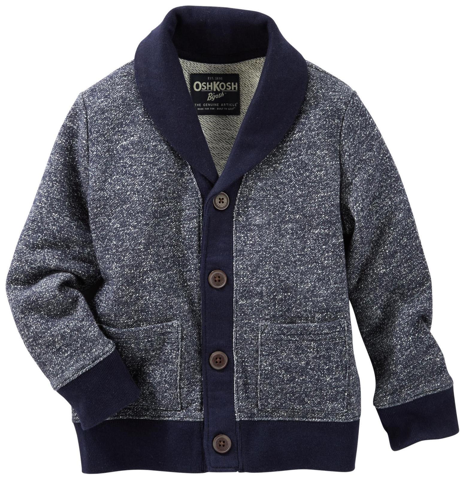 OshKosh B'Gosh Boys' Knit Layering 22116010, Blue (420) 2T