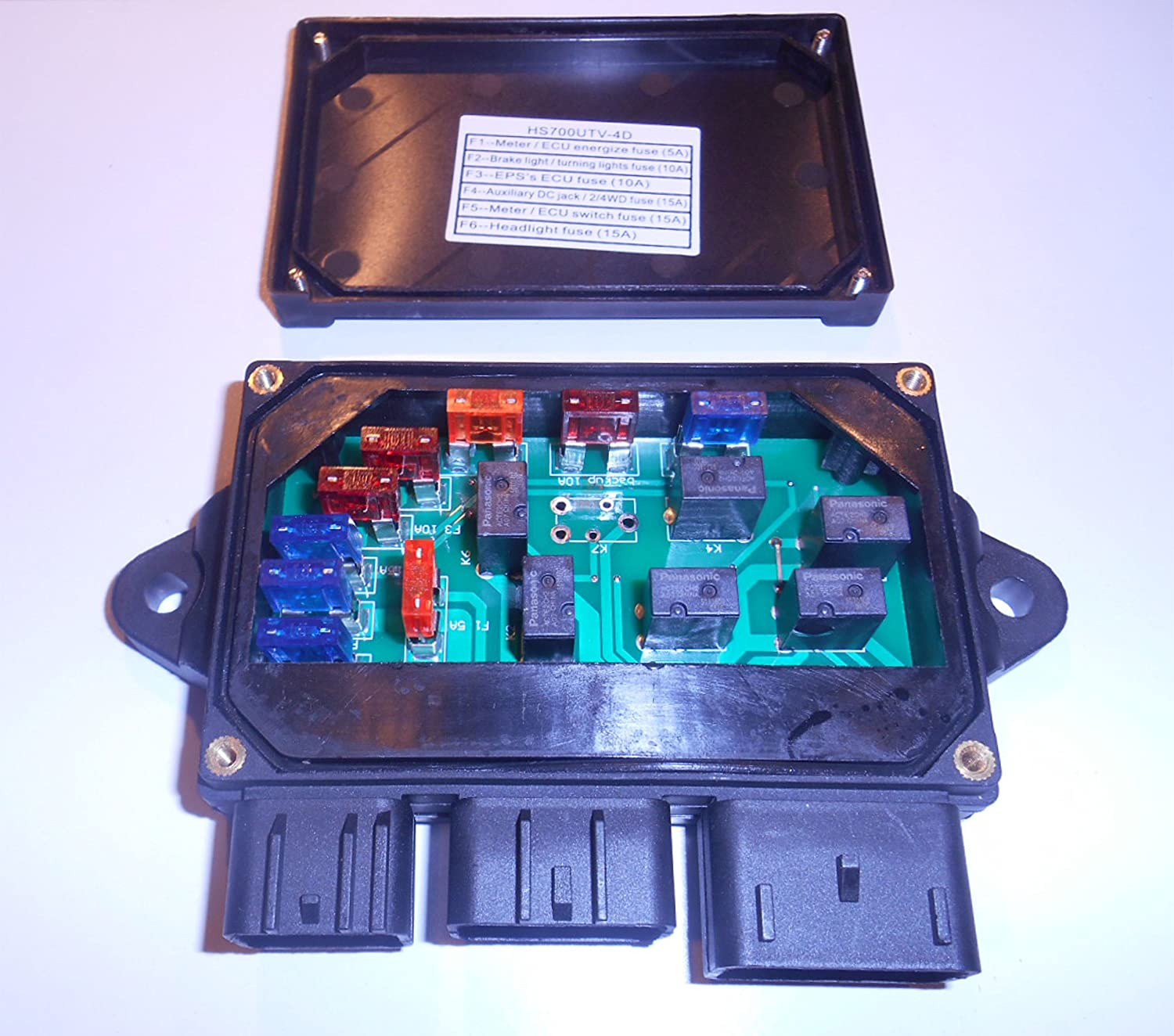 Hisun 400 Atv Fuse Box - Trusted Wiring Diagram •