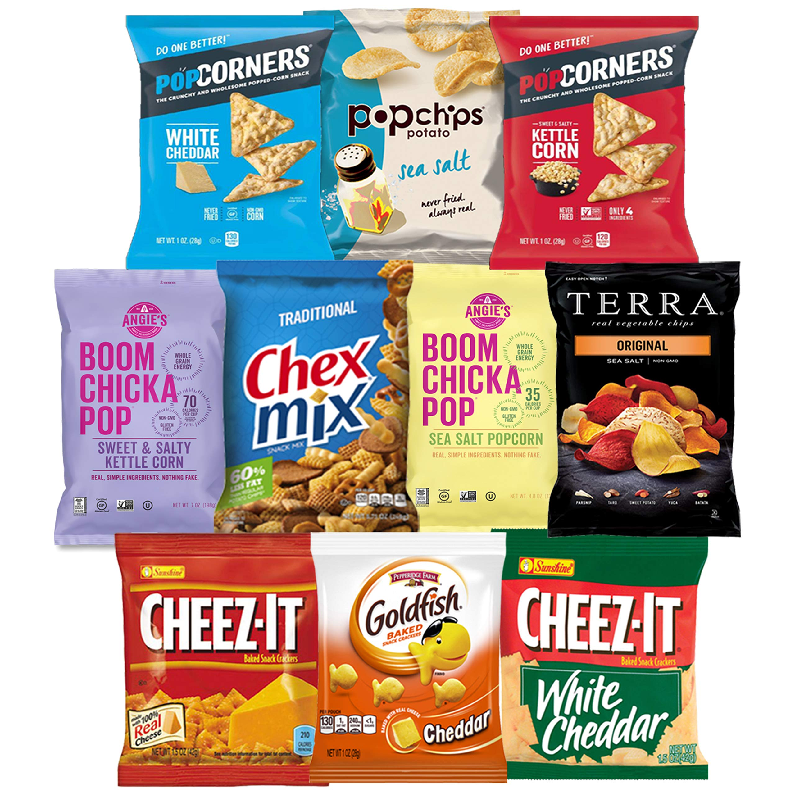 Snack Chest Care Package (40 Count) Variety Snacks Gift Box - College Students, Military, Work or Home - Over 3 Pounds of Chips Cookies & Candy! by Snack Chest (Image #1)