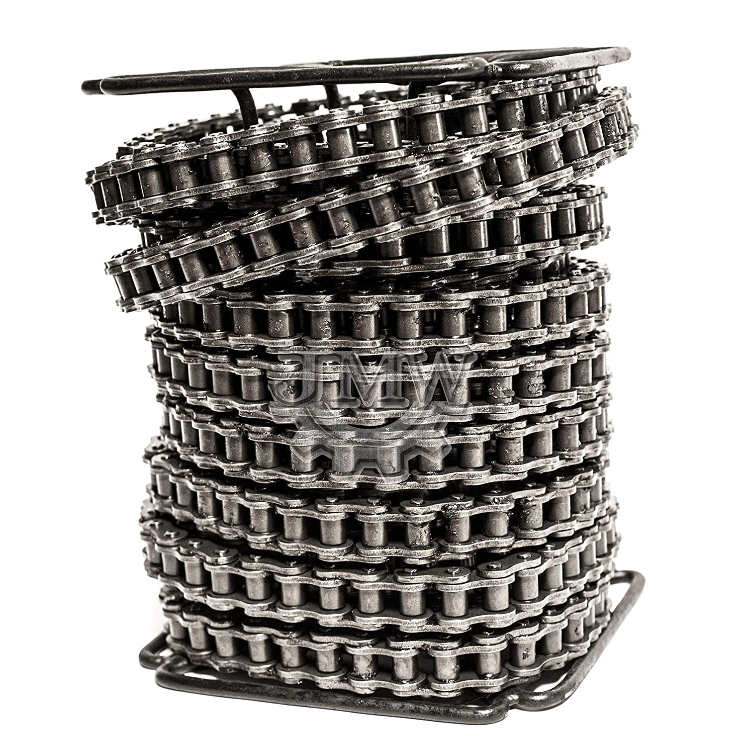 Jeremywell 60 Roller Chain 100 Feet with 10 Connecting Links