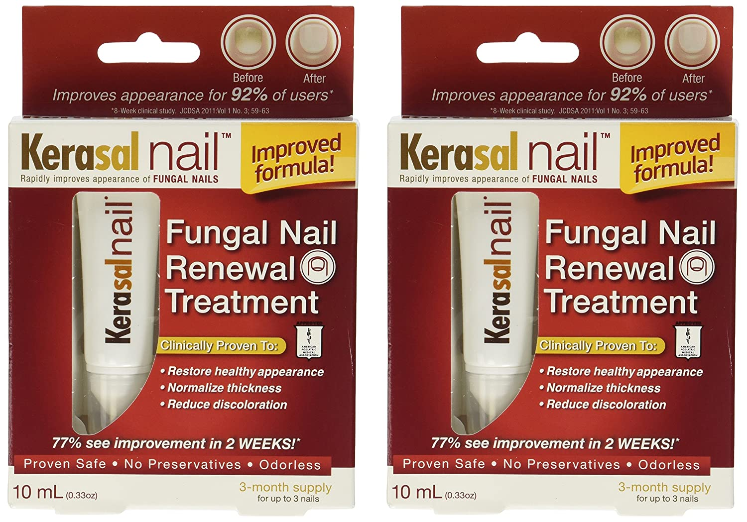 Amazon.com : Kerasal Kerasal Nail Fungal Nail Renewal Treatment 10 ...