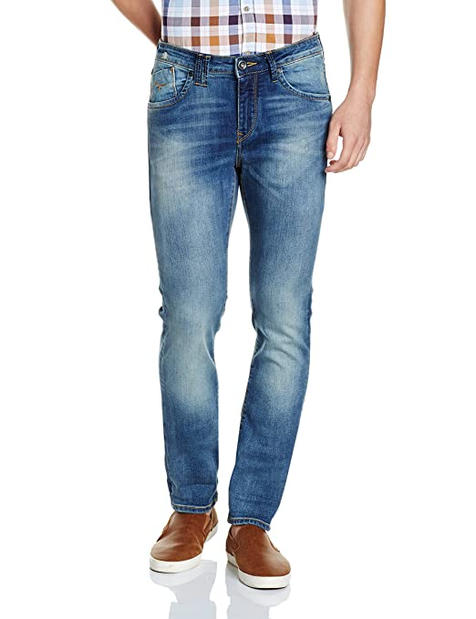 Flying Machine Men's (Jackson) Skinny Fit Stretchable Jeans Men's Jeans at amazon