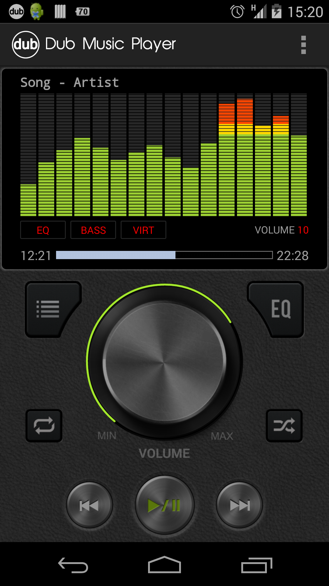 player dub equalizer android