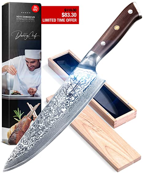 Amazon.com: Cuchillo Chef de 8.0 in – cuchillo japonés con ...
