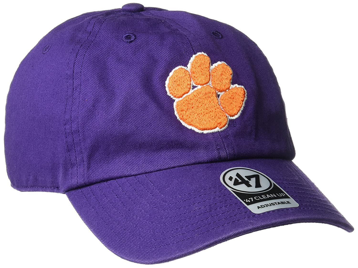 04aaa258674 ... in orange 7e946 d351b  best price amazon ncaa clemson tigers 47 brand clean  up adjustable hat purple one size sports