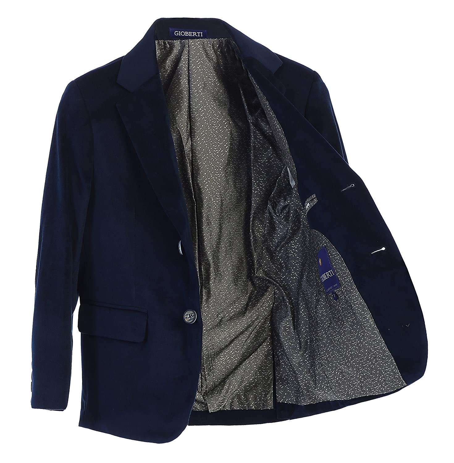 Gioberti Boys Formal Velvet Blazer China BLV-82