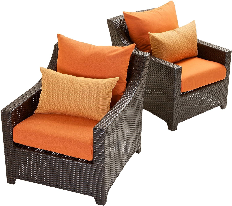 Amazon RST Brands OP PECLB2 TKA K Deco Club Chairs Tikka