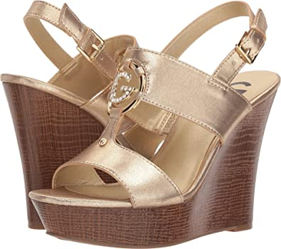 852d568dd Amazon.com | G by GUESS Women's Dreamer | Platforms & Wedges