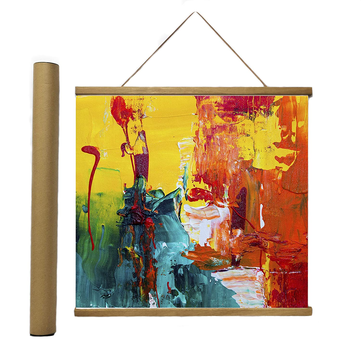 Vintage Posters. Canvas Map Modern Wooden Wall Frame Hanger for Office /& Home Decoration with Reinforced Magnets 2pack, 24 Can be Used for Photo GemArt 24x36 Magnetic Poster Frame Print