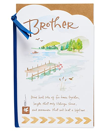 Amazon American Greetings Happiest Birthday Card For Brother