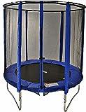 Cortez Blue 6ft Trampoline with Enclosure