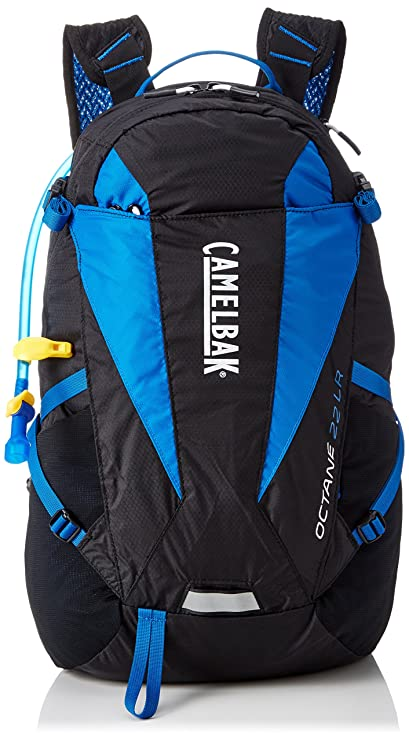 a611ca33b1 Camelbak Products Octane 22 LR Hydration Pack, Black/Skydiver, 100-Ounce
