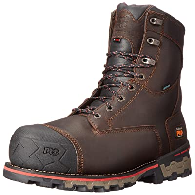 "Timberland PRO Men's 8"" Boondock Comp-Toe Waterproof Work Boot: Shoes"