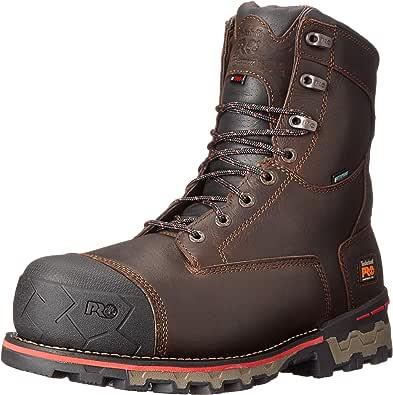 """Timberland PRO Men's 8"""" Boondock Comp-Toe Waterproof Work Boot"""