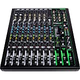 Mackie ProFXv3 Series, 12-Channel Professional Effects Mixer with USB, Onyx Mic Preamps and GigFX effects engine - Unpowered