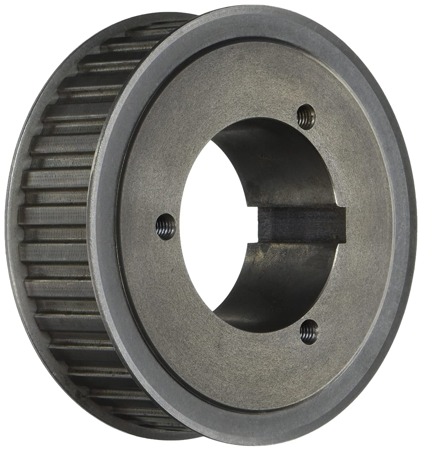 1.5 Wide 1//2 Pitch Browning 36HQ150 Steel Stock Gearbelt Pulleys with Split Taper Bushings for H150 Belts