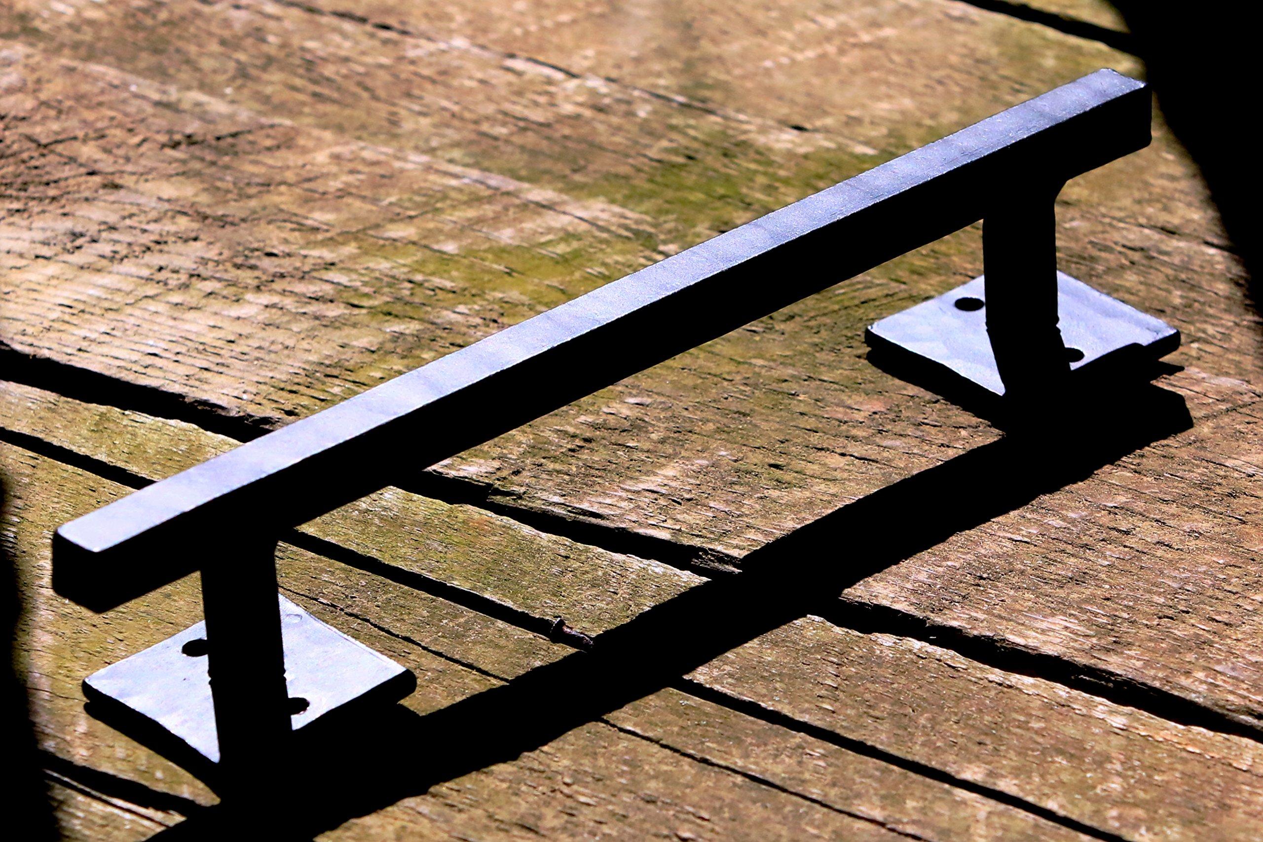 Barn Door Handle Pull Handmade Barndoor Hardware Hand Forged Wrought Iron  Barndoor Handles SSB