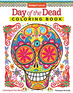 day of the dead coloring book coloring is fun