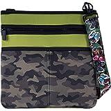 LuVo - Neoprene Pancake Crossbody Bags - Teens, Tweens, Adults