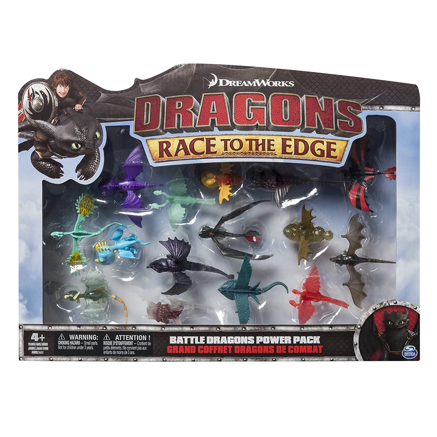 Amazon DreamWorks Dragons Race To The Edge Battle Dragons