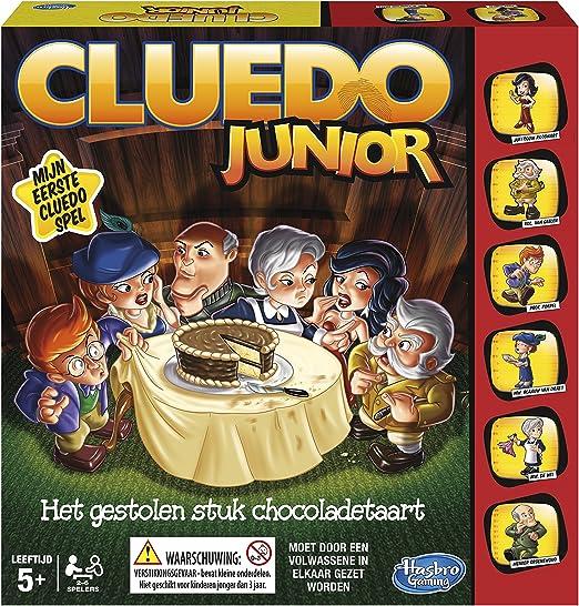 Hasbro - Cluedo Junior, El Caso de la Tarta desaparecida (B0335105) (versión española): Amazon.es: Juguetes y juegos
