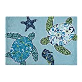 C&F Home Hooked Imperial Coastal Rug, Blue