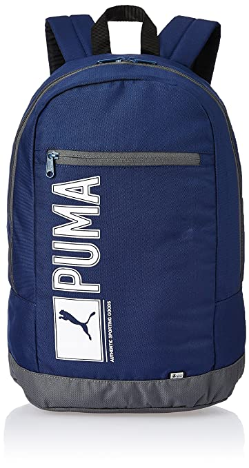 8c10abee865c Puma Navy Casual Backpack (7339102)  Amazon.in  Bags