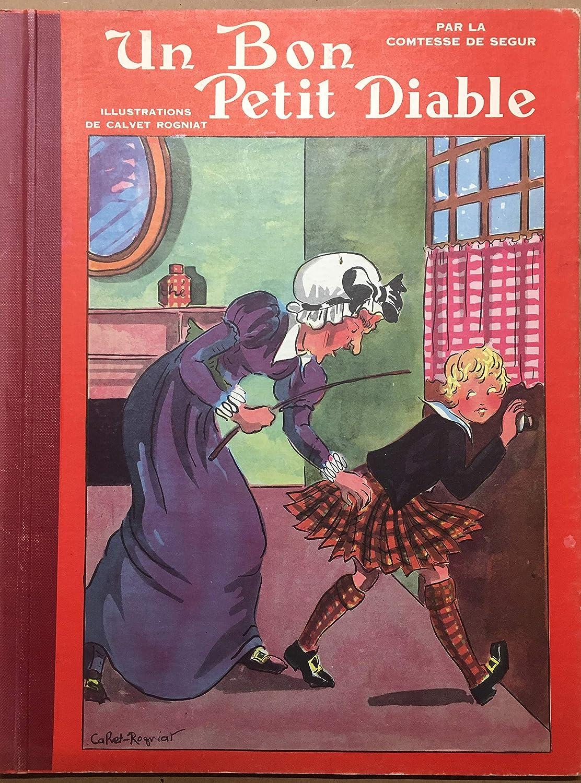 Un Bon Petit Diable. Par la comtesse de Ségur. Bande dessinée de collection 1952.