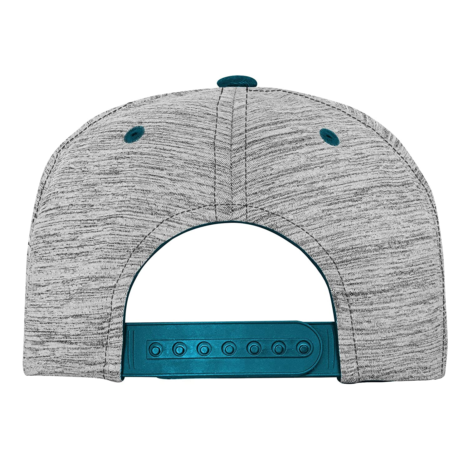 NFL Jacksonville Jaguars Youth Outerstuff Space Dye Snapback Hat Heather Grey Youth One Size