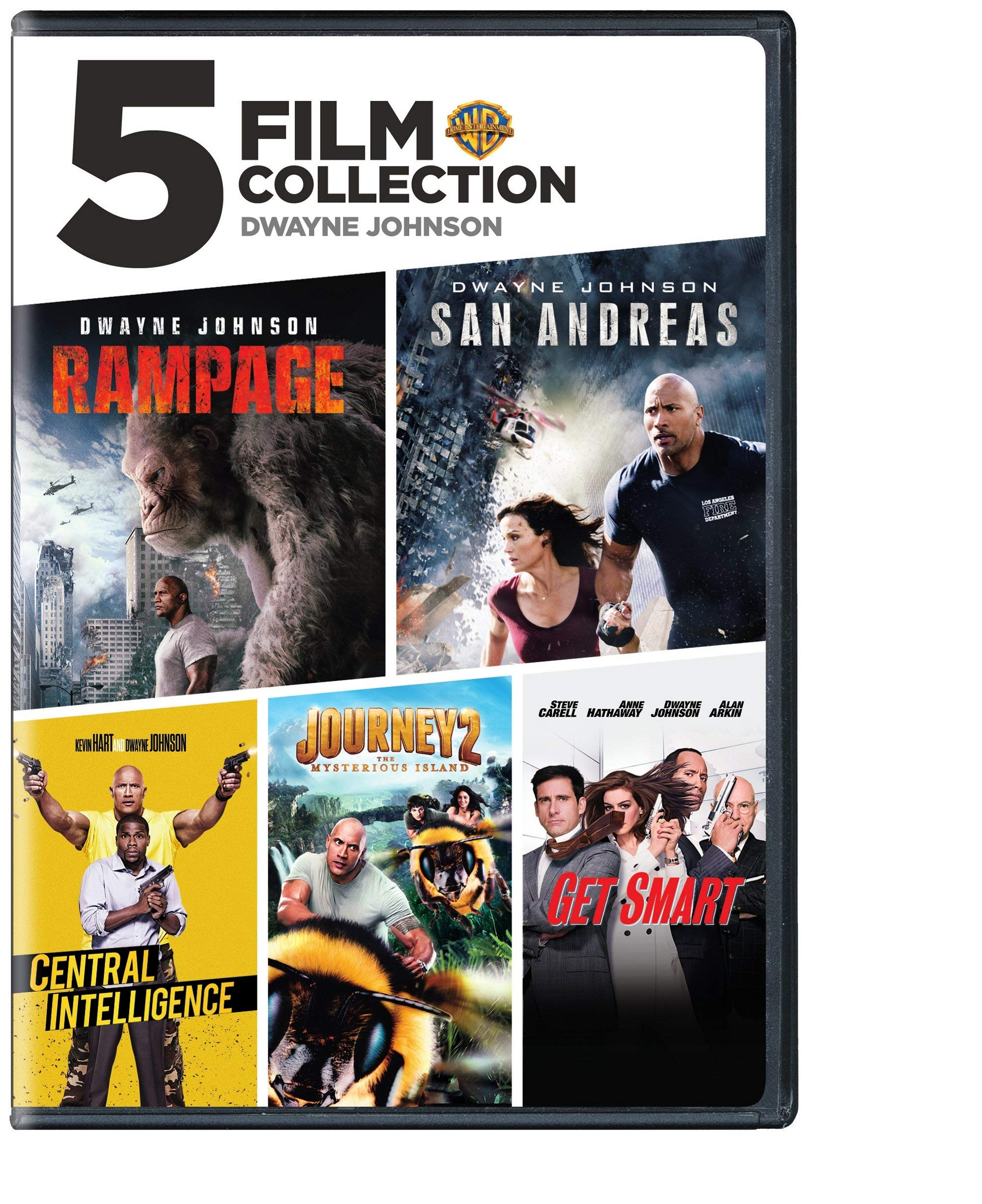 DVD : The Dwayne Johnson Collection (Boxed Set)