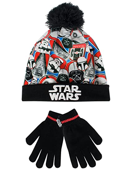 Star Wars Boys  Star Wars Hat and Gloves Set Multicolored One Size 2b81dddf4ea9