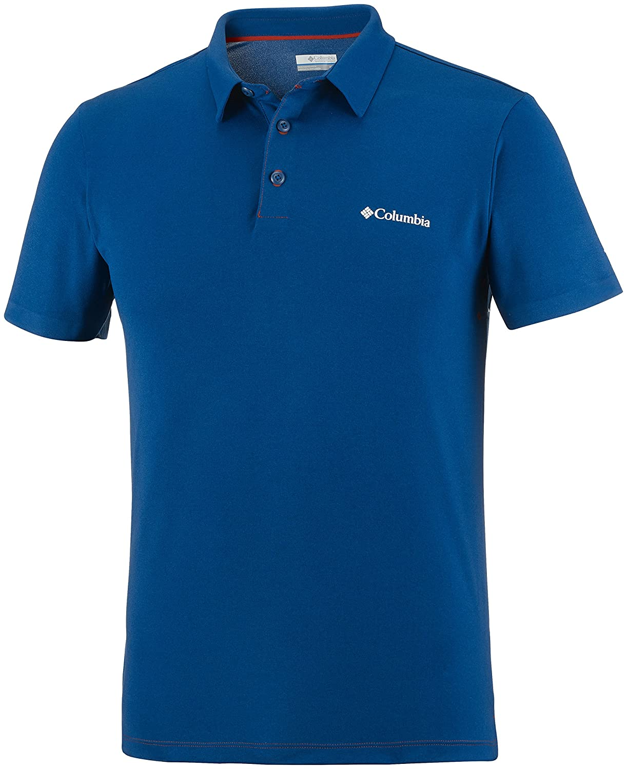 Columbia Koszulka Triple Canyon Tech Polo Blau-XL T-Shirt