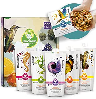 product image for 1 Day Hybrid Quick Reboot Juice Cleanse – Designed for First-time juicers, Includes Dry Superfruit Snacks for Quick and Easy Way to Reboot The Digestive System – Vegan, Non-GMO & Gluten-Free - 8 Pack